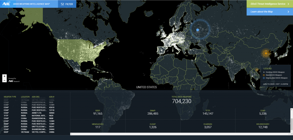 , Coordinated DDoS Attack on US Service Providers, The Cyber Post